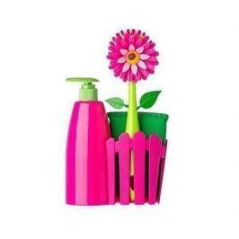 Kuchyňská sada, 3 díly Flower Power Pink