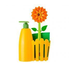 Kuchyňská sada, 3 díly Flower Power Orange
