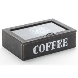 Krabice na kávové kapsle Black Coffee