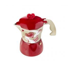 Moka kávovar Romantic Hearts