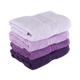 Sada 4 ručníků Rainbow Lilac 70x140 cm