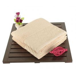 Sada 2 ručníků Persephone Beige 50x90 cm