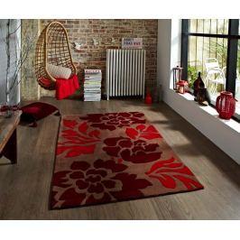 Koberec Roses Brown and Red 120x170 cm