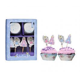 Sada na pečení a zdobení muffinů, 48 dílů Fairy