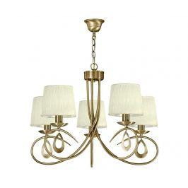 Závěsná lampa Arnika Five Gold
