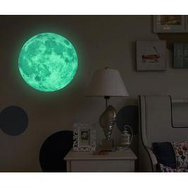 Fosforeskující nálepka Real Moon