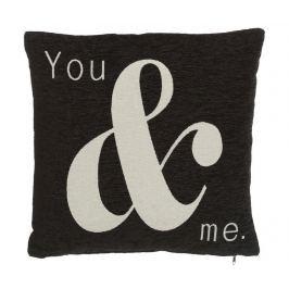 Dekorační polštář You and Me 45x45 cm