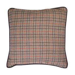 Dekorační polštář Thin Beige Check 45x45 cm