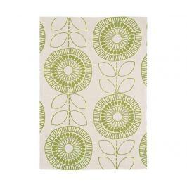 Koberec Onix Scandic Flower Green 120x170 cm