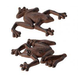 Sada 2 nástěnných dekorací Frog