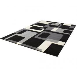 Koberec Retro Black & Cream 120x170 cm
