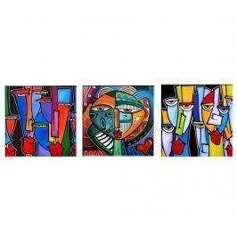 Sada 3 obrazů Picasso 30x30  cm