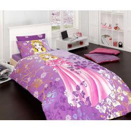 Ložní povlečení Single Ranforce Purple Princess