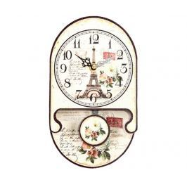 Nástěnné hodiny s kyvadlem Flowey Eiffel