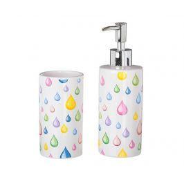 Koupelnová sada, 2 díly Drops