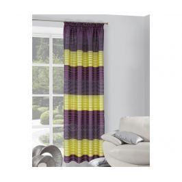 Závěs Erin Dif Violet Yellow 140x250 cm