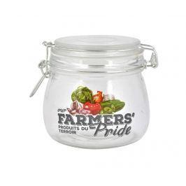 Sklenice s hermetickým víkem Farmers Pride 490 ml