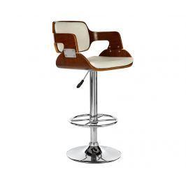 Barová židle Effect White