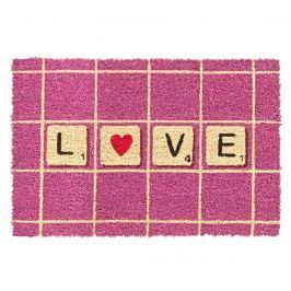 Vchodová rohožka Love Pink 40x60 cm