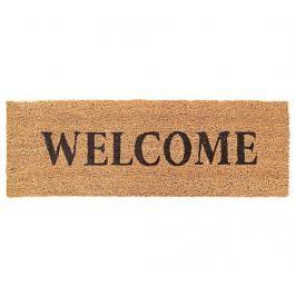 Vchodová rohožka Welcome Light Brown 25x75 cm