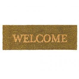Vchodová rohožka Welcome Green 25x75 cm