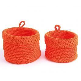 Sada 2 košíků Round Orange