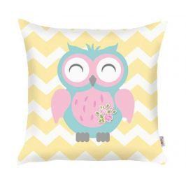 Povlak na polštář Happy Owl 35x35 cm
