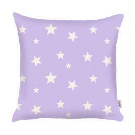 Povlak na polštář Stars Purple 35x35 cm
