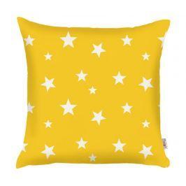 Povlak na polštář Stars Yellow 35x35 cm