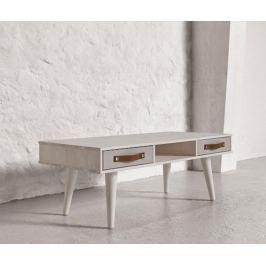 Konferenční stolek Dance White