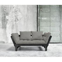 Rozkládací pohovka Daydream Black & Granite Grey