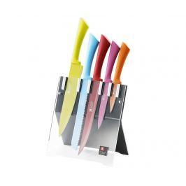 Sada 5 nožů a držák Love Colour Original