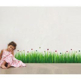 Samolepka Colourful Ladybug Grass
