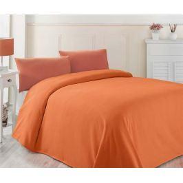 Přehoz Pique Cozy Orange 200x230 cm