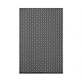 Plastový koberec Arabian Black&White 90x150 cm