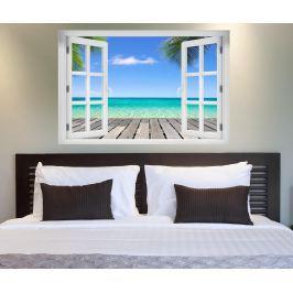Samolepka 3D The Quiet Beach