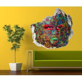Samolepka 3D Arabesque Face Painting