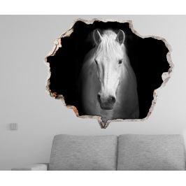 Samolepka 3D White Horse