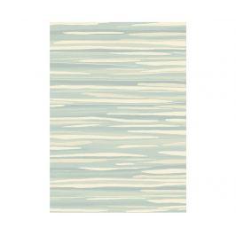 Koberec Echo Broken Stripe Aqua 160x230 cm