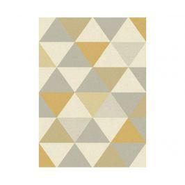 Koberec Focus Triangles Ochre 80x150 cm