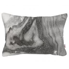 Povlak na polštář Abstract Dark Grey 31x50 cm