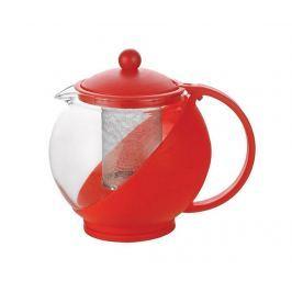 Čajník s víkem a infuzérem Calliope Red 1.2 L
