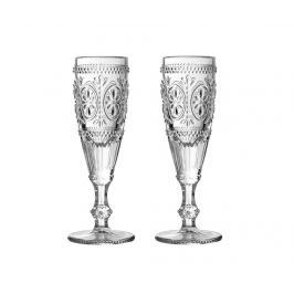 Sada 2 sklenic na šampaňské Fleur 170 ml