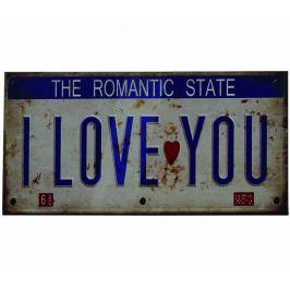 Nástěnná dekorace I Love You