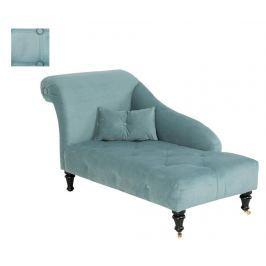 Lehátko do obýváku pravostranné Emilia Light Turquoise