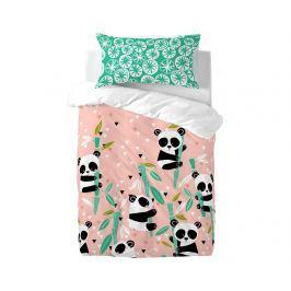 Povlečení do postýlky Panda Garden Extra