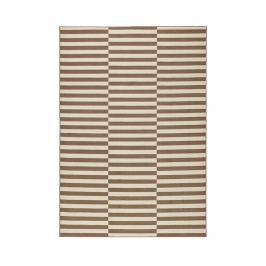 Koberec Panel Brown & Cream 80x150 cm