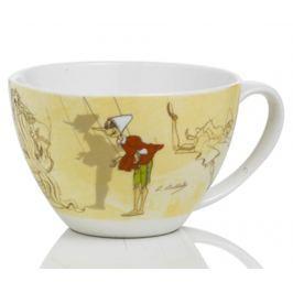 Snídaňový hrnek Pinocchio Mangiafocco 450 ml