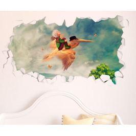 3D samolepka Flying Little Prince