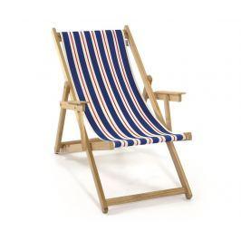 Skládací plážová židle Joy Blue Natural Red